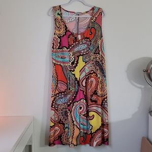 NWOT! NY Collection Women's Sleeveless Dress
